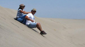 Sandboarding in Lancelin